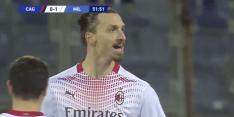 Ibrahimovic slaat weer toe en zet AC Milan op een 0-2 voorsprong