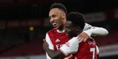 Arsenal kruipt naar boven en vindt aansluiting met subtop