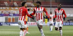 PSV na erg zwakke eerste helft alsnog simpel langs FC Volendam