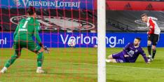 Feyenoord komt zwakke start te boven en pakt kwartfinale-ticket