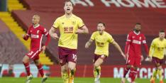 Crisis bij Liverpool: verlies van Burnley, Anfield-reeks ten einde