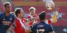 Titelhouder Arsenal uit FA Cup door eerste 'tegengoal' in 2021