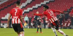 PSV houdt concurrentie in zicht na zakelijke zege op RKC