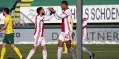 Kansen missend Ajax pakt toch overwinning bij strijdend Fortuna