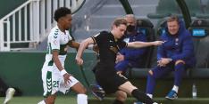 """De Jong: """"Ik had de bal laten gaan als Antoine hem had geraakt"""""""