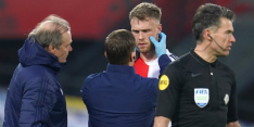 """Blessure voor Jørgensen: """"Hij kon aan één oog niets meer zien"""""""