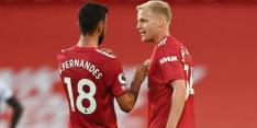 Domper Van de Beek: zelfs bankzitter bij Manchester United 'B'