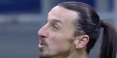 Video: ook te horen wat Zlatan en Lukaku elkaar toewensen