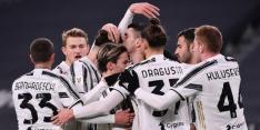 Juventus bekert bij basisrentree De Ligt eenvoudig verder