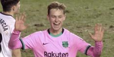 Video: Frenkie de Jong maakt belangrijk doelpunt in Copa del Rey