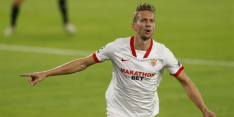"""De Jong eindelijk weer belangrijk bij Sevilla: """"Moeilijke tijd"""""""