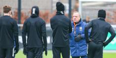 Feyenoord heeft winteraanwinst Balde voor eerst op de training