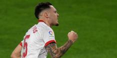 Sevilla weer even nummer drie na winst op Eibar