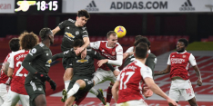 Duur puntverlies United in 'topper' tegen Arsenal