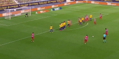 Video: Atlético op voorsprong dankzij heerlijke vrije trap Suárez