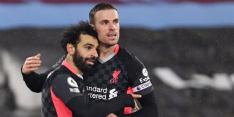 Liverpool maakt geen fout en wint dankzij Salah bij West Ham