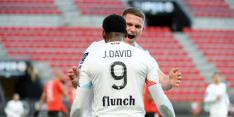 Lille lost PSG en Lyon af als koploper na benauwde zege