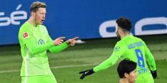 Trefzekere Weghorst klimt met Wolfsburg naar derde plek