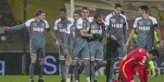 Gemankeerd Volendam wint van Eagles in emotioneel duel