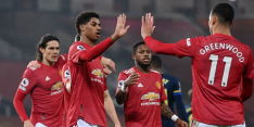 Man United houdt niets heel van negenkoppig Southampton (9-0)
