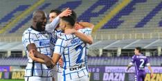 Inter voor even koploper Serie A na zege op Amrabat