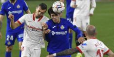 Bankzitter Luuk de Jong ziet Sevilla ruim winnen van Getafe
