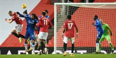 Manchester United dondert door laat doelpunt van roze wolk af