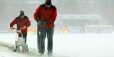 Ook Duitsland geteisterd door sneeuw: duel afgelast