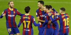 Invalbeurt Messi en wondergoal Trincao redden Barça bij Betis