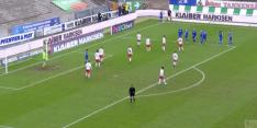 Video: Karlsruher scoort bijna met bijzondere cornervariant