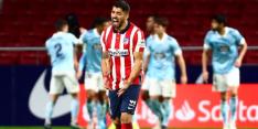 Atlético verspeelt ondanks goals Suárez dure punten in La Liga