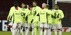 In beeld: Ajax-spelers steunen Onana met zijn shirt