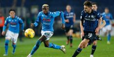 Atalanta schakelt Napoli uit en haalt finale Coppa Italia
