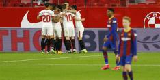 Bekerfinale ver weg voor Barça na verlies bij Sevilla