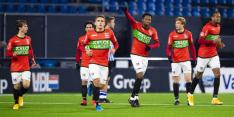 NEC veegt FC Den Bosch van de mat en sluit aan bovenin