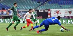 Leipzig klopt Augsburg en blijft in spoor koploper Bayern