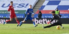 Leicester legt Liverpool op pijnbank in bizarre slotfase
