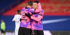 Alleen shirts kleurrijk bij zege PSG in aanloop naar Barcelona