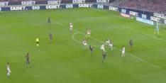 Video: Messi schiet van grote afstand heerlijk raak