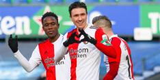 Feyenoord heeft na matige eerste helft geen kind aan Willem II
