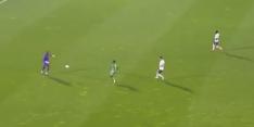 Video: voormalig Ajax-keeper Bruno Varela heel pijnlijk de fout in