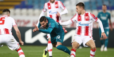 Milan speelt in extremis gelijk tegen tienkoppig Rode Ster