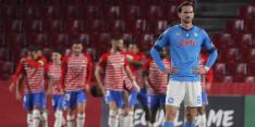 Nieuwe dreun voor Napoli met verlies bij Granada