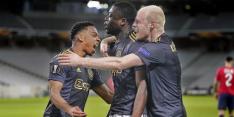 Sterk Ajax slaat toe in de slotfase en verslaat defensief Lille OSC
