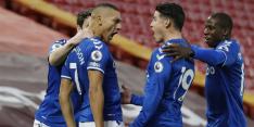 Everton wint na lange tijd weer competitieduel bij Liverpool