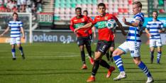 De Graafschap krijgt 1153 NEC-fans stil in De Goffert