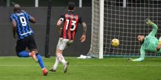 Dominant Inter grijpt de macht en duwt AC Milan kopje onder