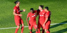Weer winnend RB Leipzig maakt Duitse titelstrijd spannend