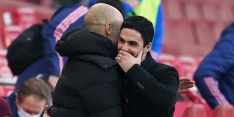 Ook Arteta kan leermeester Guardiola en City niet stoppen