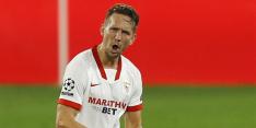 Sevilla blijft druk op Atlético, Real en Barcelona opvoeren